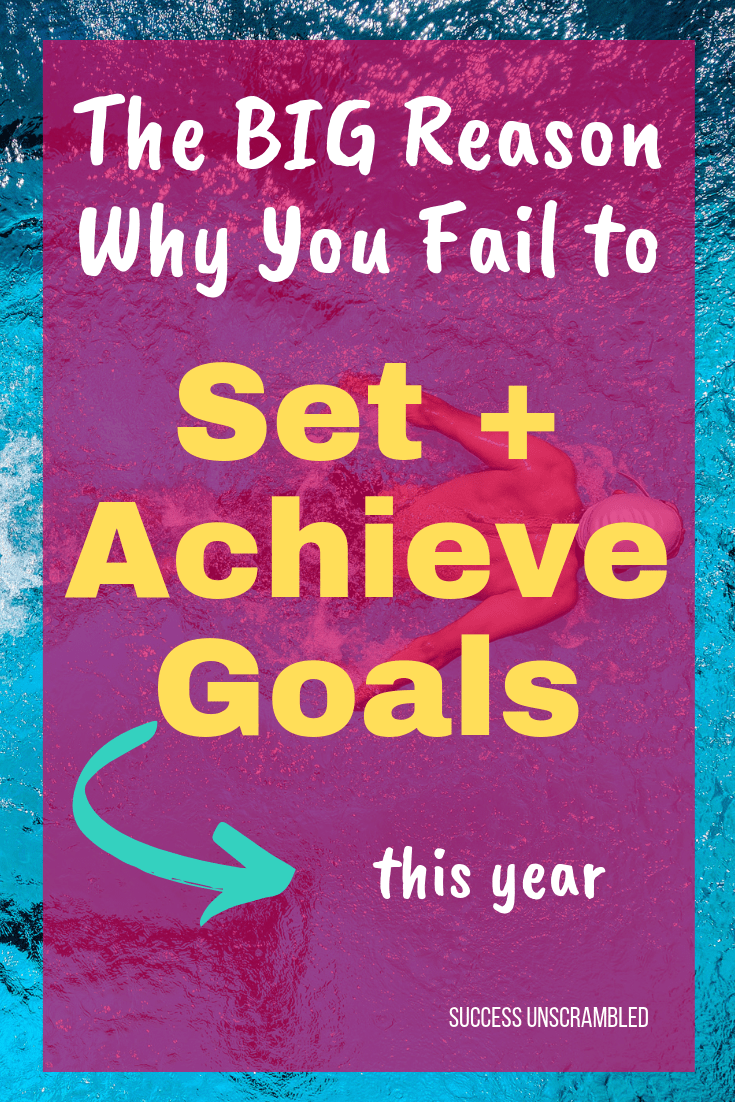The Big Reason why you fail to set and achieve goals this year