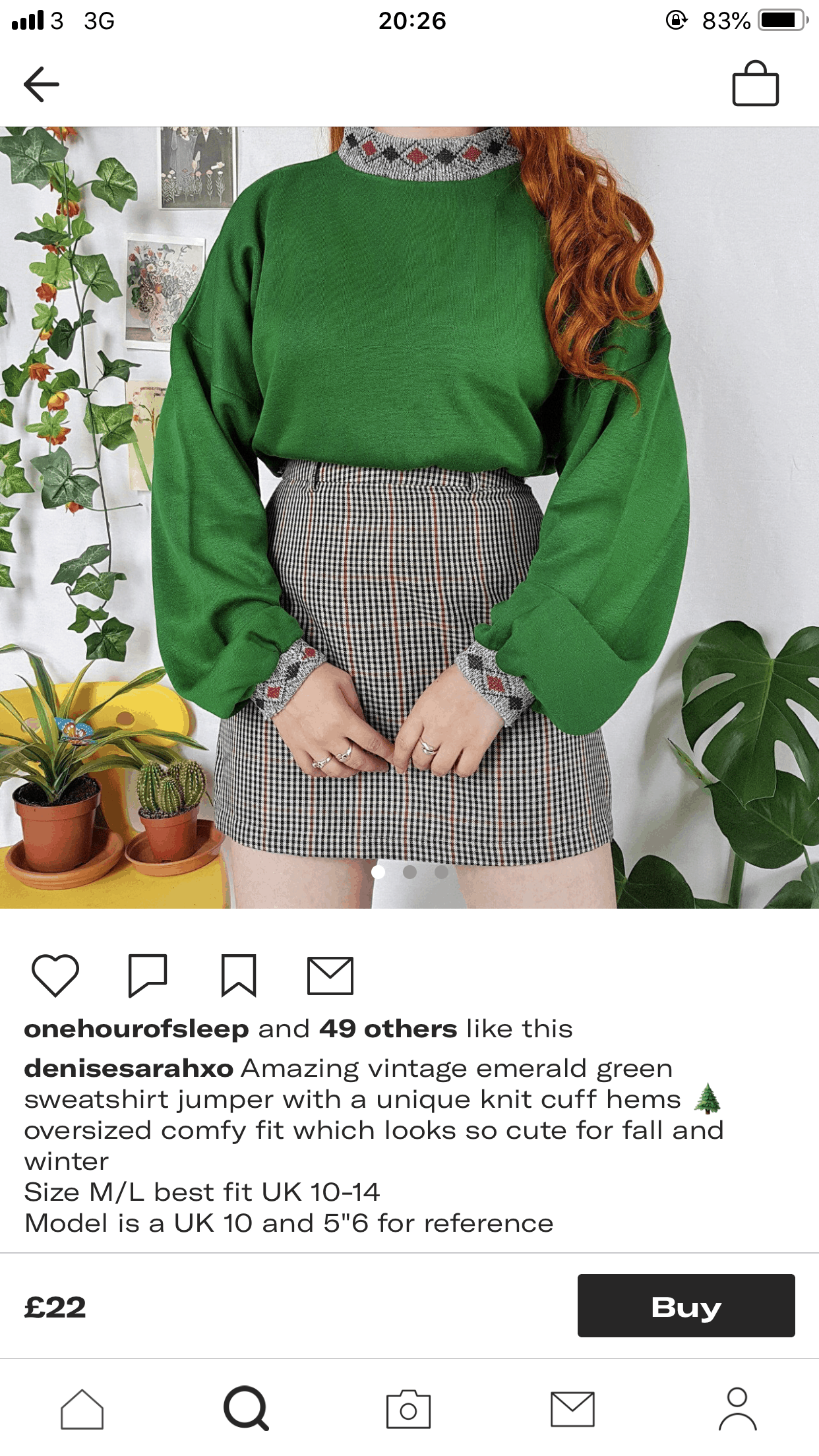 Emerald Green Sweatshirt