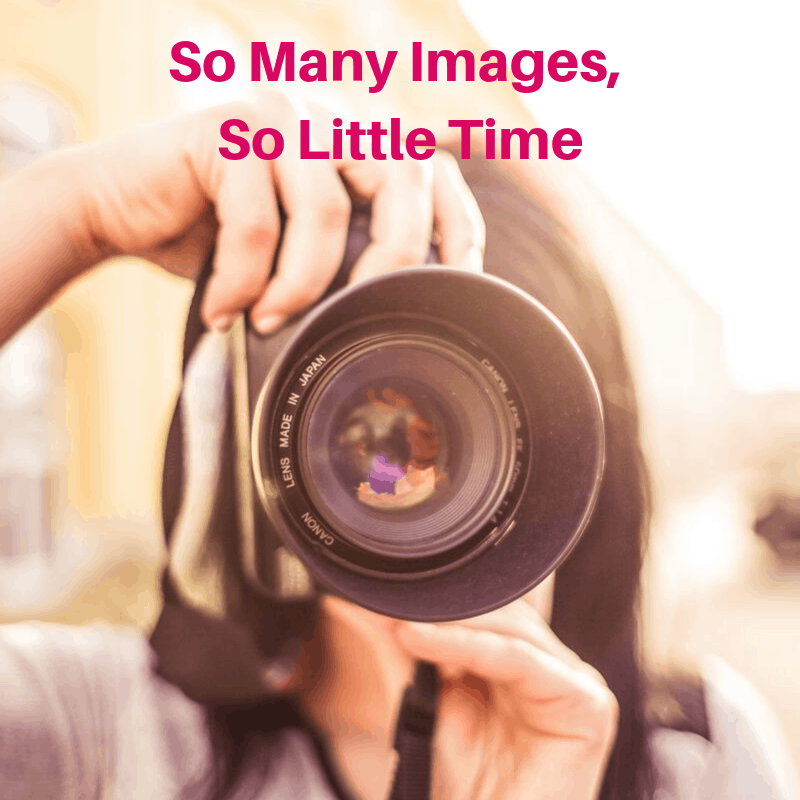 So Many Images, So Little Time