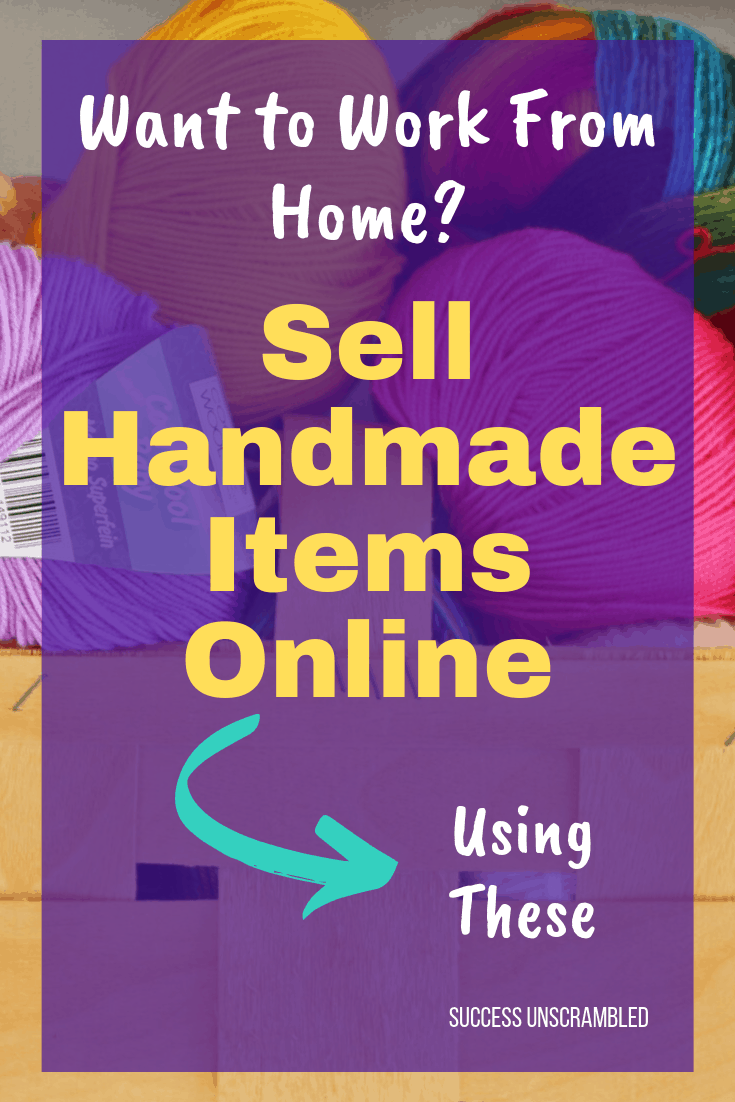 Sell Handmade Items Online Using These