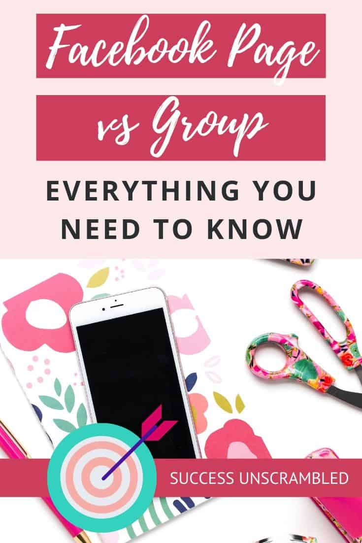 Facebook Page vs Group, Everything you need to know
