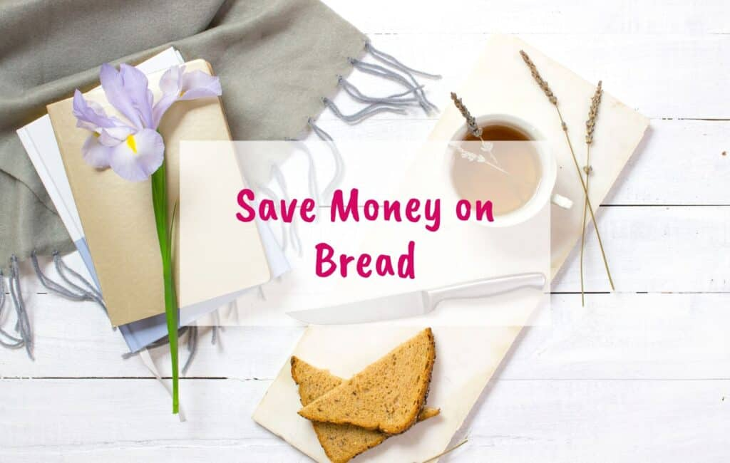 Save money on bread, Save money of food, ice cream, chocolate, fruits, toilet paper, vegetables, buy in bulk, leftovers, freeze sliced bread - blog