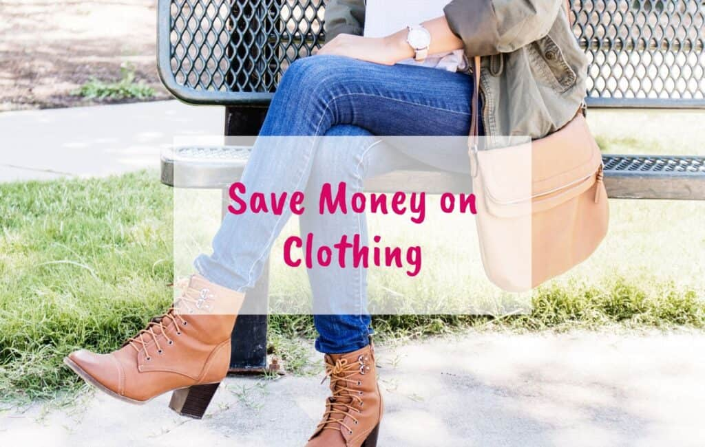 save money on fashion, save money on clothing, spend less on clothes - blog