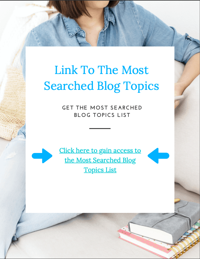 Most Searched Blog Topics - img