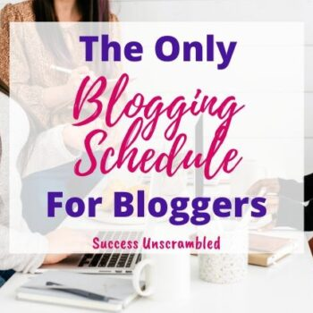 The only blogging schedule you need this year, for bloggers - 630x430