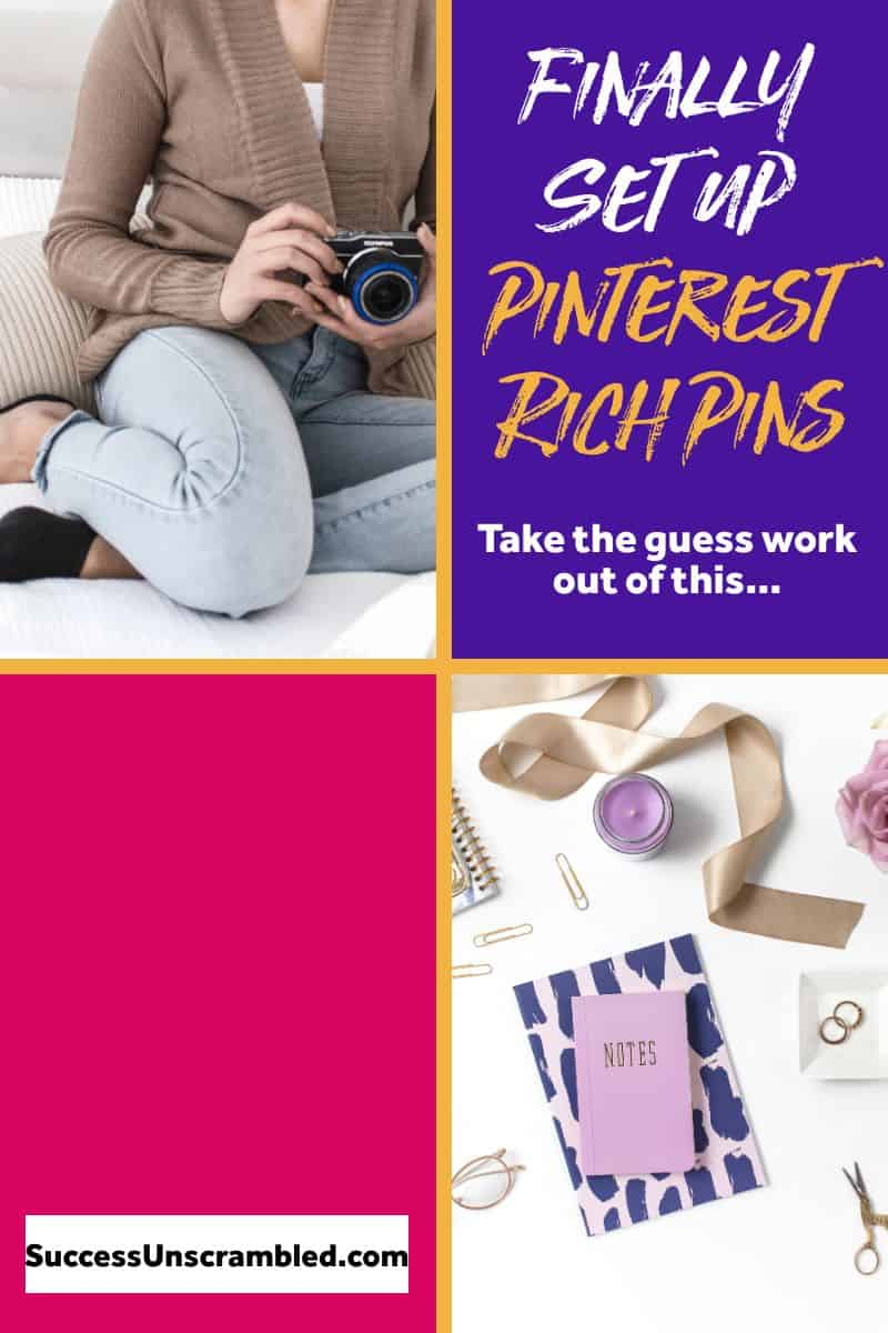 Finally set up Pinterest rich pins - 2