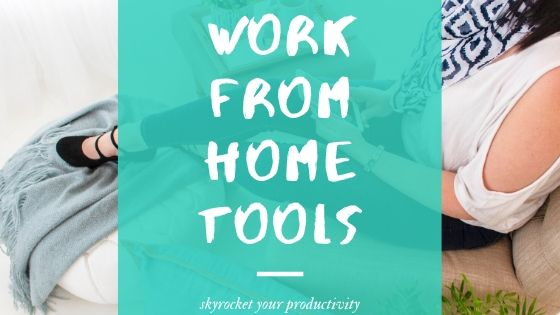 work from home tools, working remotely tools and tips, remote working video collaboration, remote working software - blog post 1
