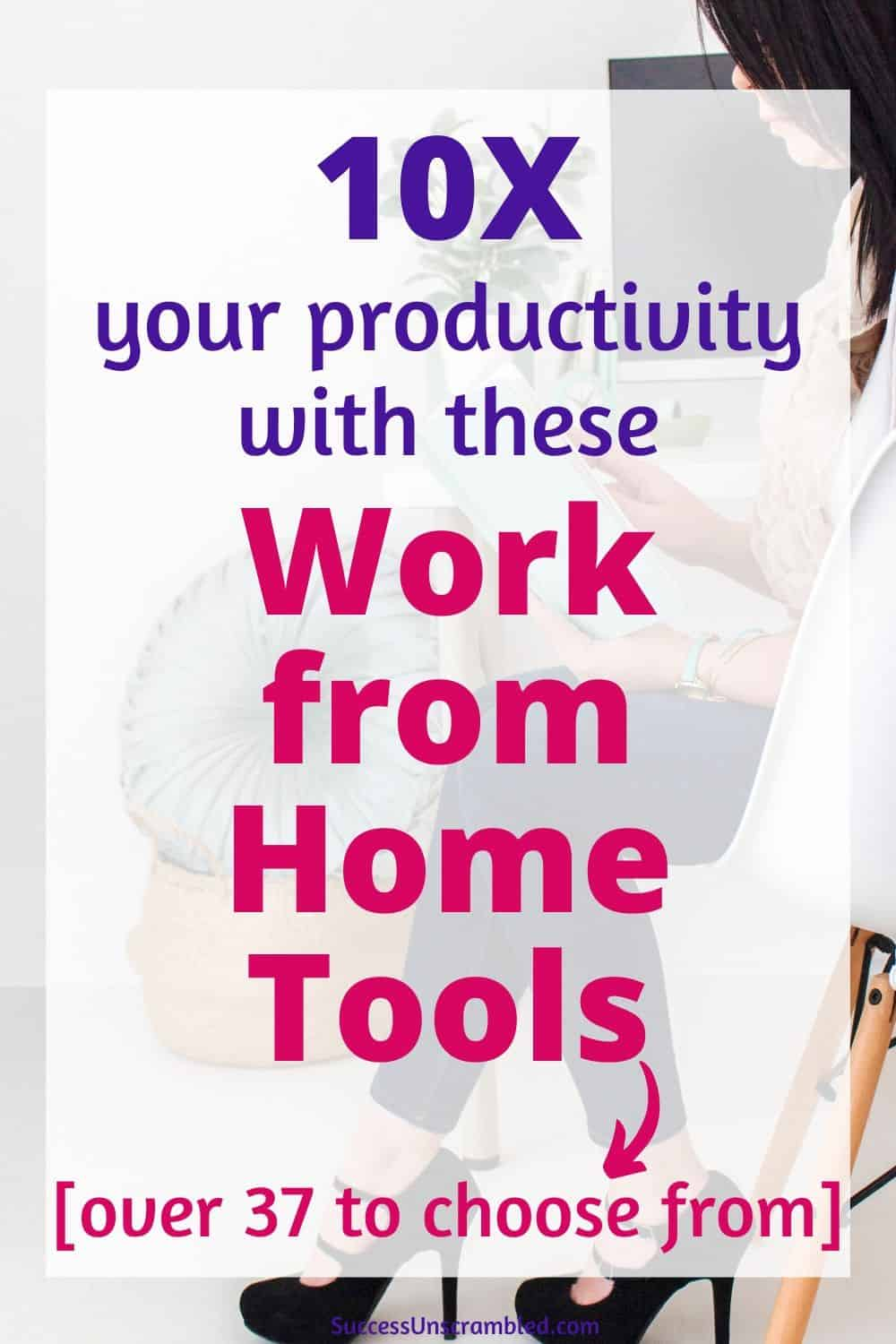 work from home tools, working remotely tools and tips, remote working video collaboration, remote working software - pin 2
