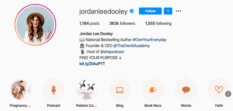 Jordan Lee Dooley on Instagram
