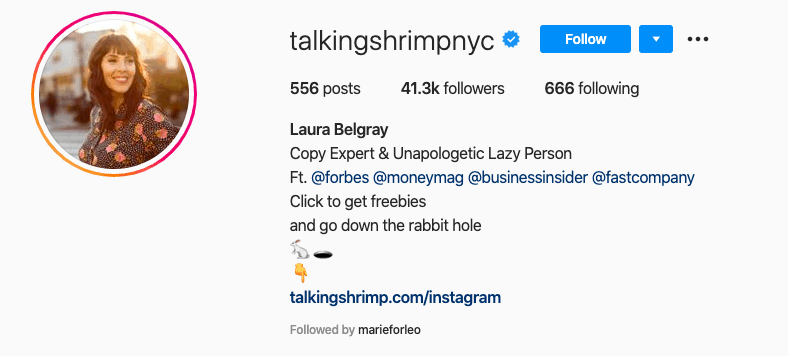 Talking Shrimp NYC on Instagram