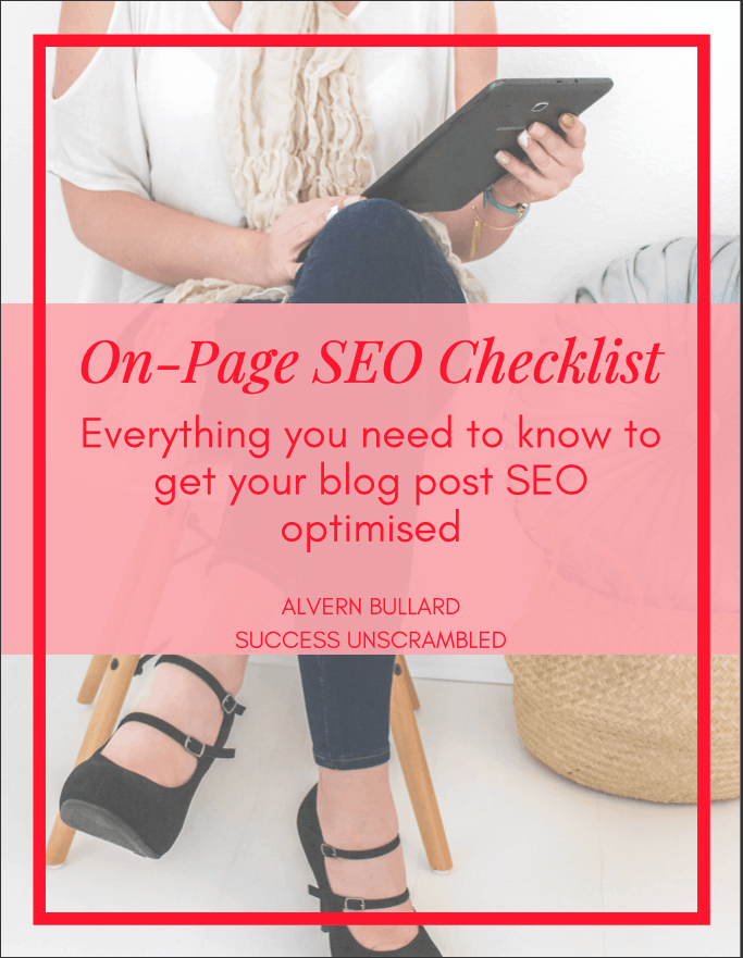 Ultimate SEO Checklist - cover pic