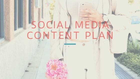 social media content plan, social media plan example, social media calendar ideas - blog 1