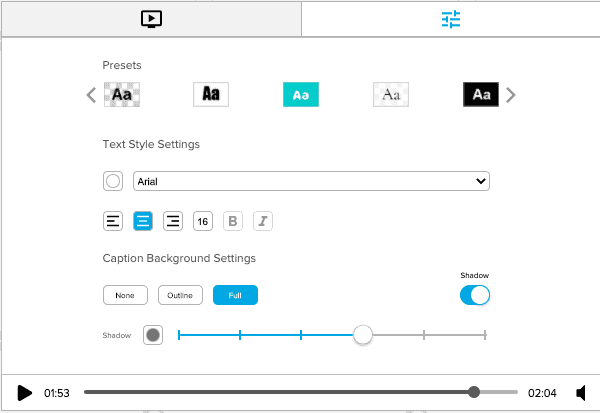 Quicc-io ability to edit fonts and sizes