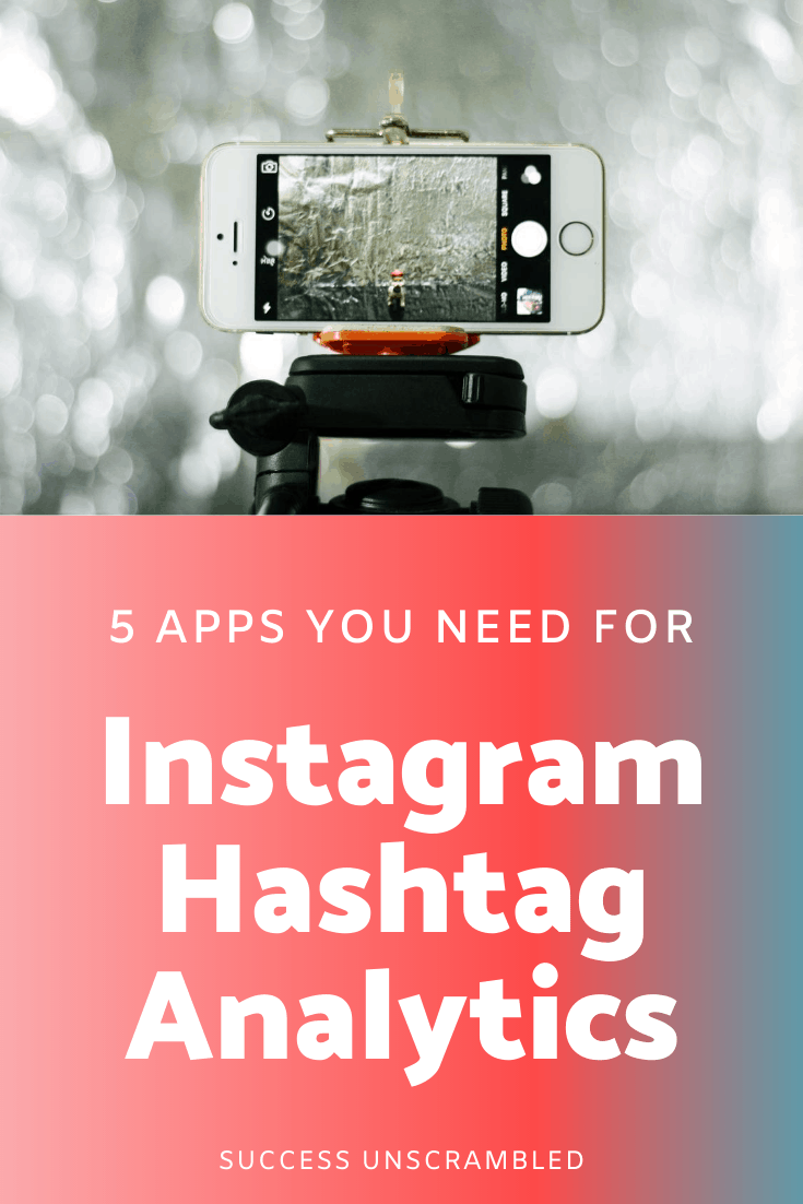 Instagram Hashtag Analytics - pin 1