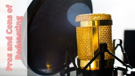 image of a high end podcasting microphone