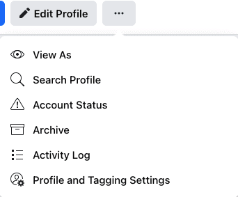 Profile and tagging settings