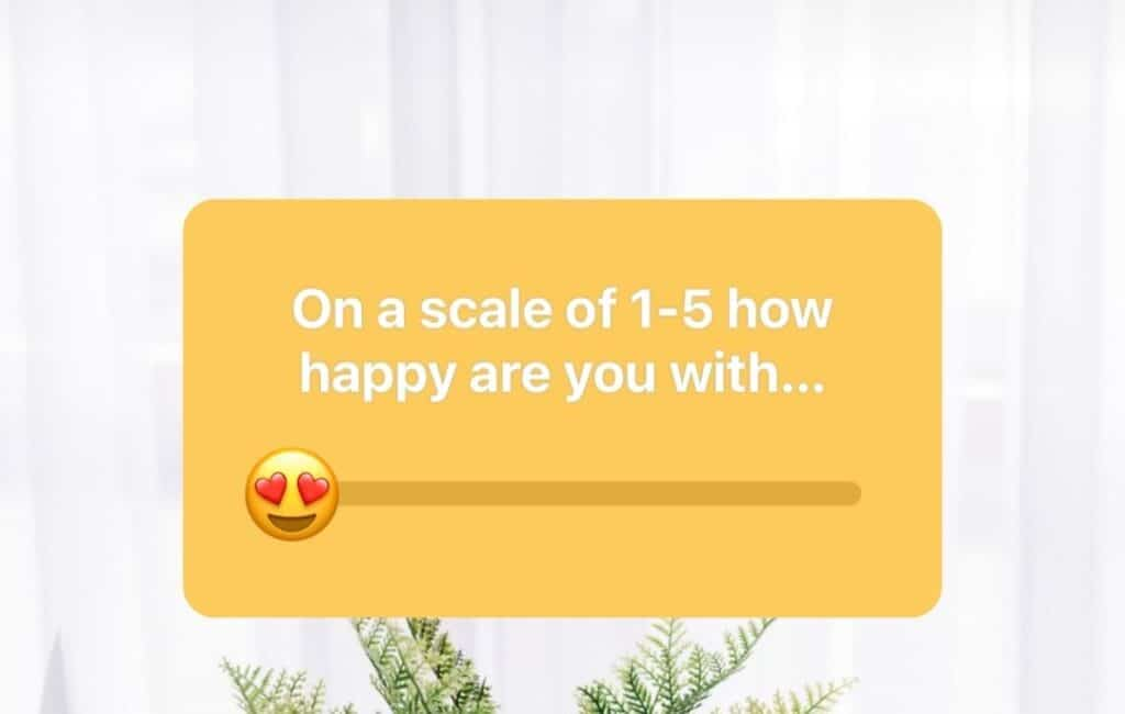 Sliding scale or rating